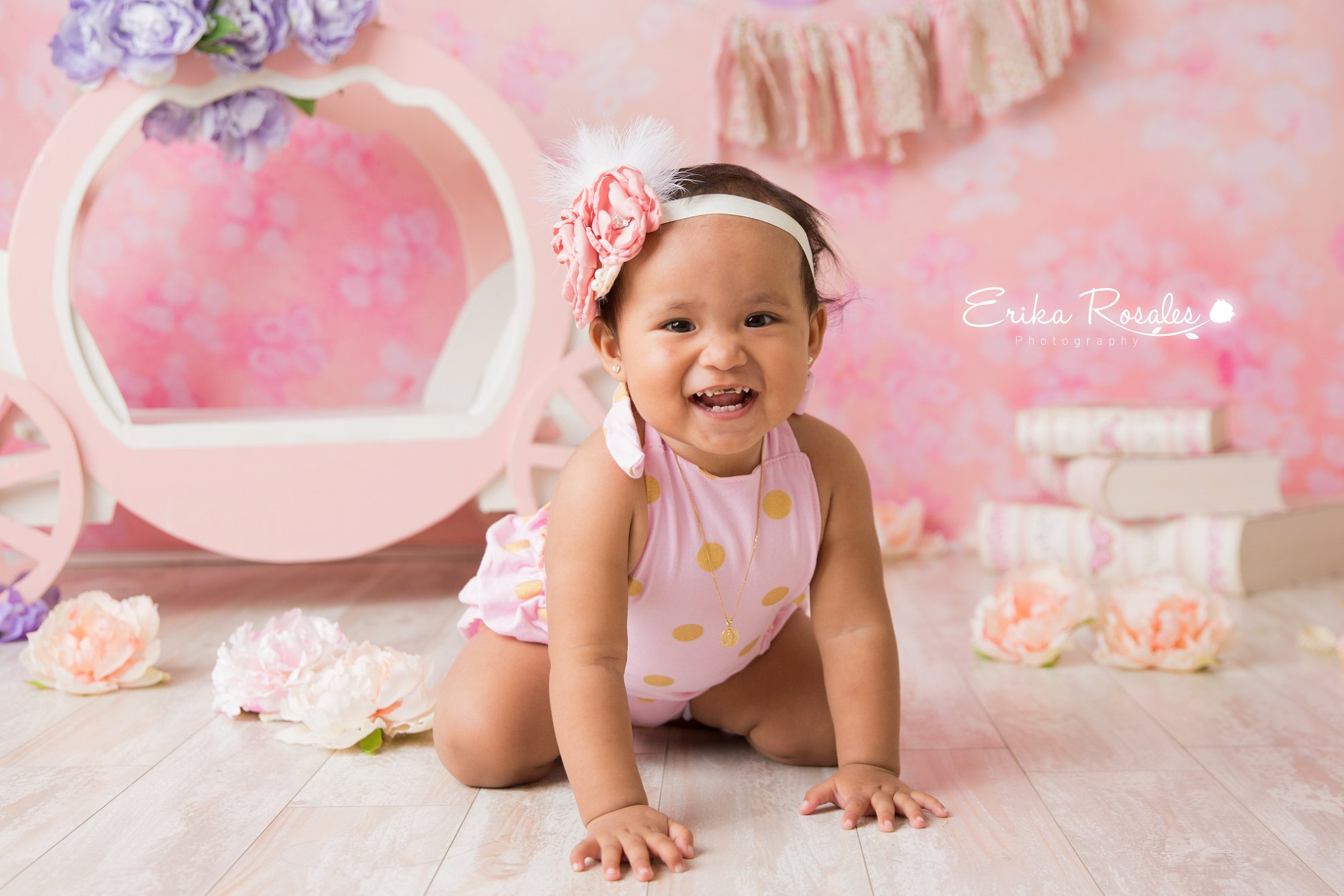 Baby Girl 1 Year Old Session Birthday Girl Session