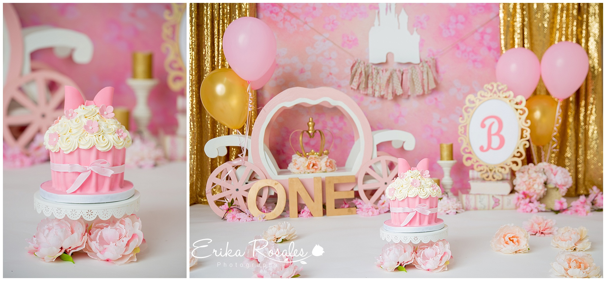 Magnificent Cake Smash Princess Photo Session The Bronx Studio Erika Funny Birthday Cards Online Inifodamsfinfo