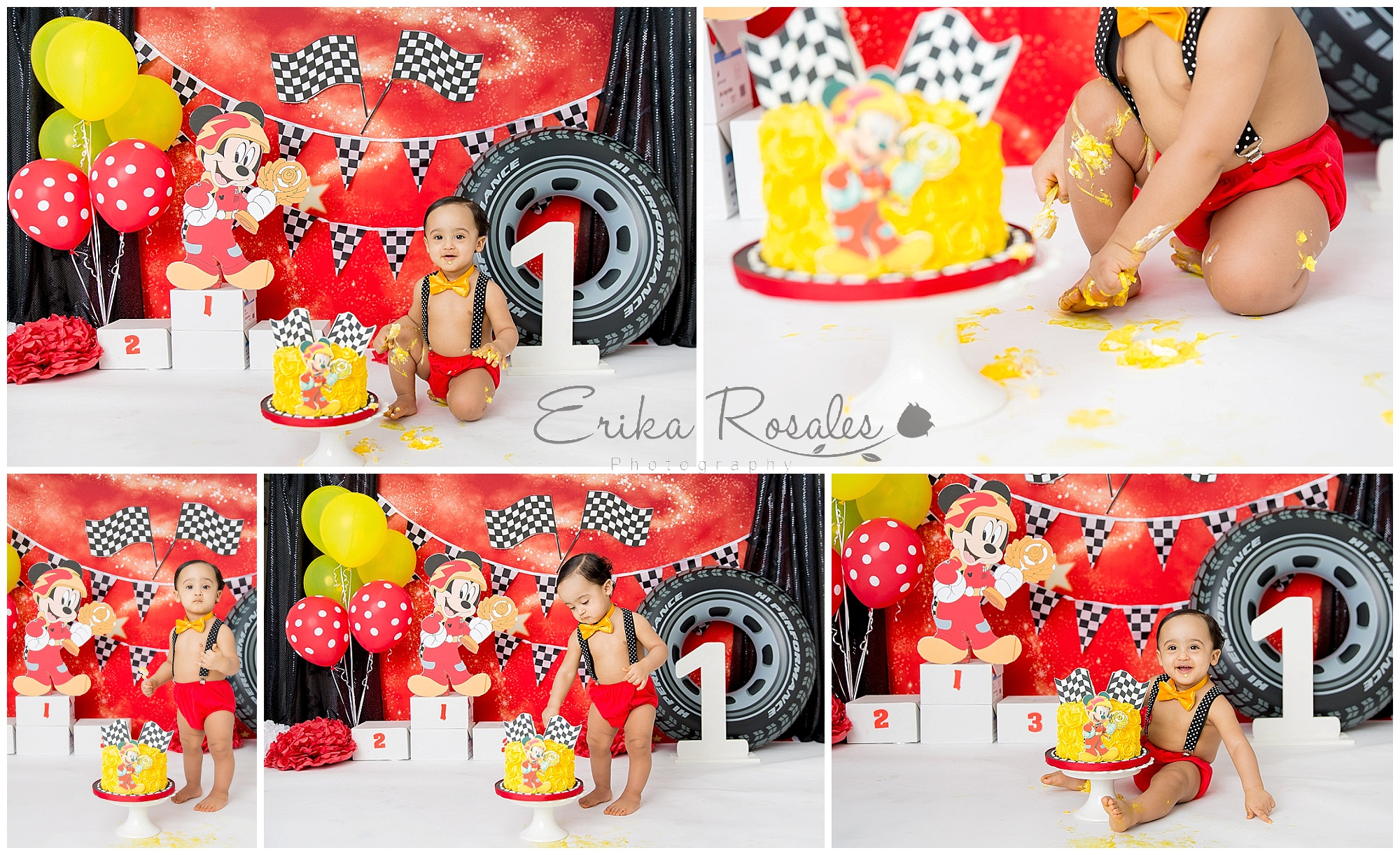 Mickey Mouse Roadster First Birthday Party Archives Erika Rosales New York Photo Studio Family Portrait Studio In Bronx Ny