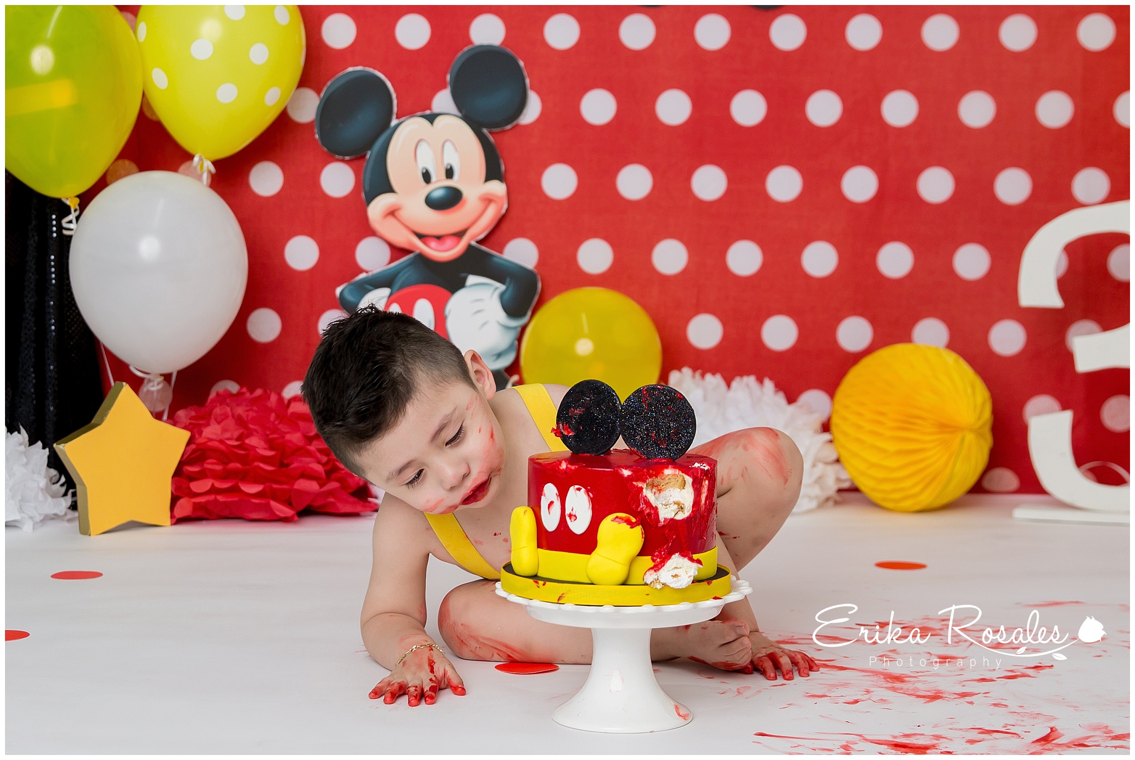 Mickey Mouse Cake Smash Archives Erika Rosales New York