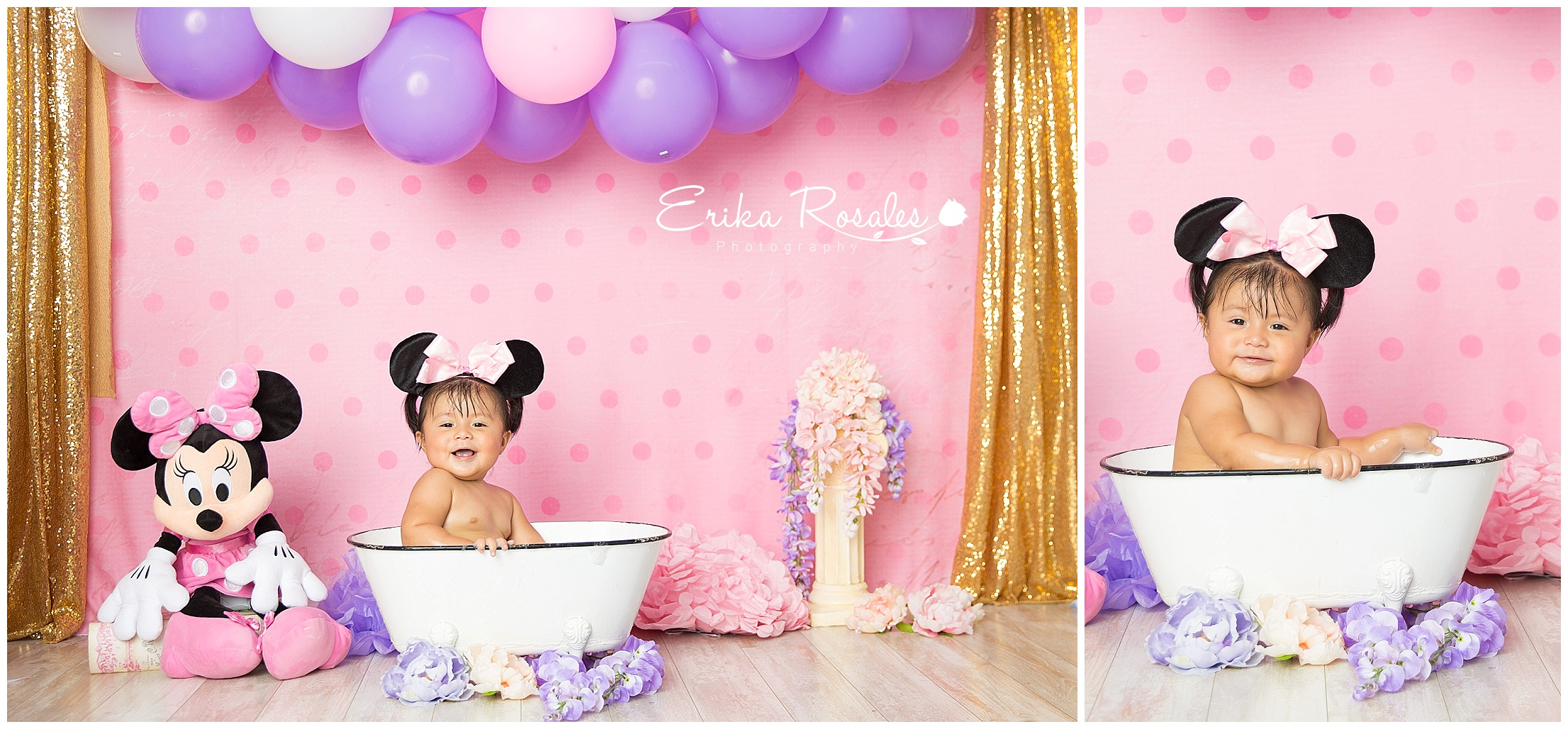 Mickey Mouse Clubhouse Smash Cake Baby Photographer The Bronx
