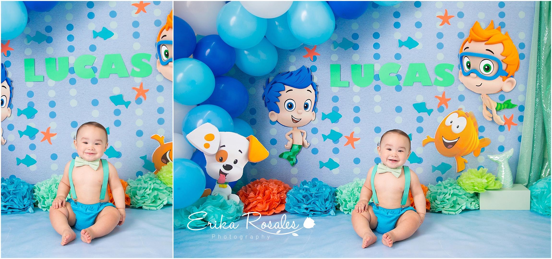 Wondrous Bubble Guppies First Birthday Archives Erika Rosales New York Funny Birthday Cards Online Hetedamsfinfo