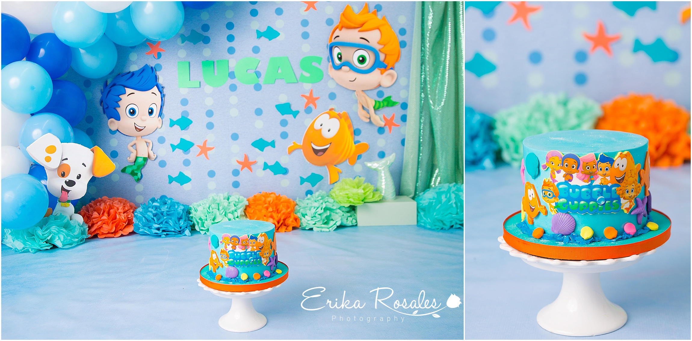 Miraculous Cake Smash Bubble Guppies Theme Archives Erika Rosales New York Birthday Cards Printable Trancafe Filternl