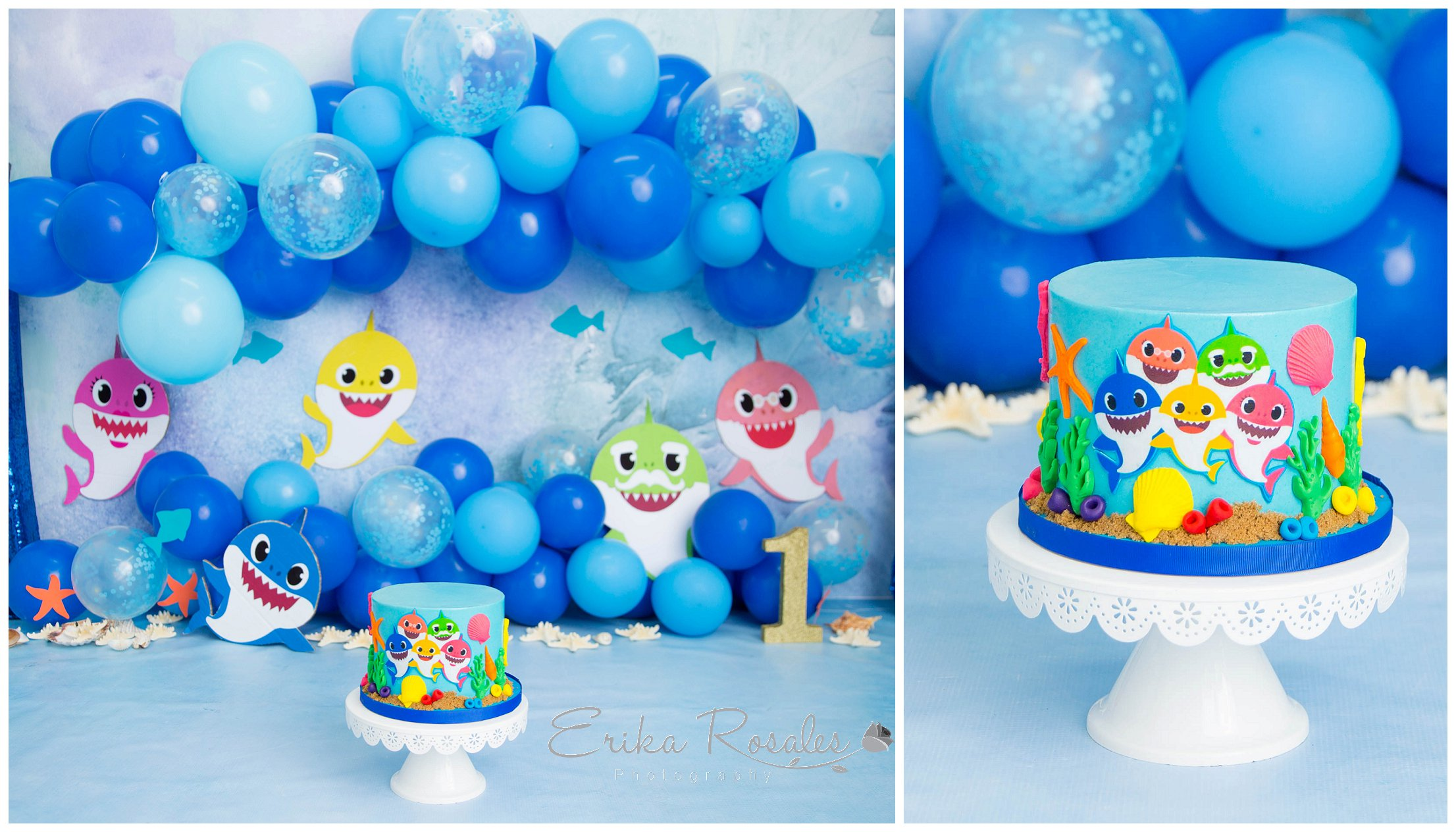 Strange Baby Shark Smash Cake Archives Erika Rosales New York Photo Funny Birthday Cards Online Inifofree Goldxyz