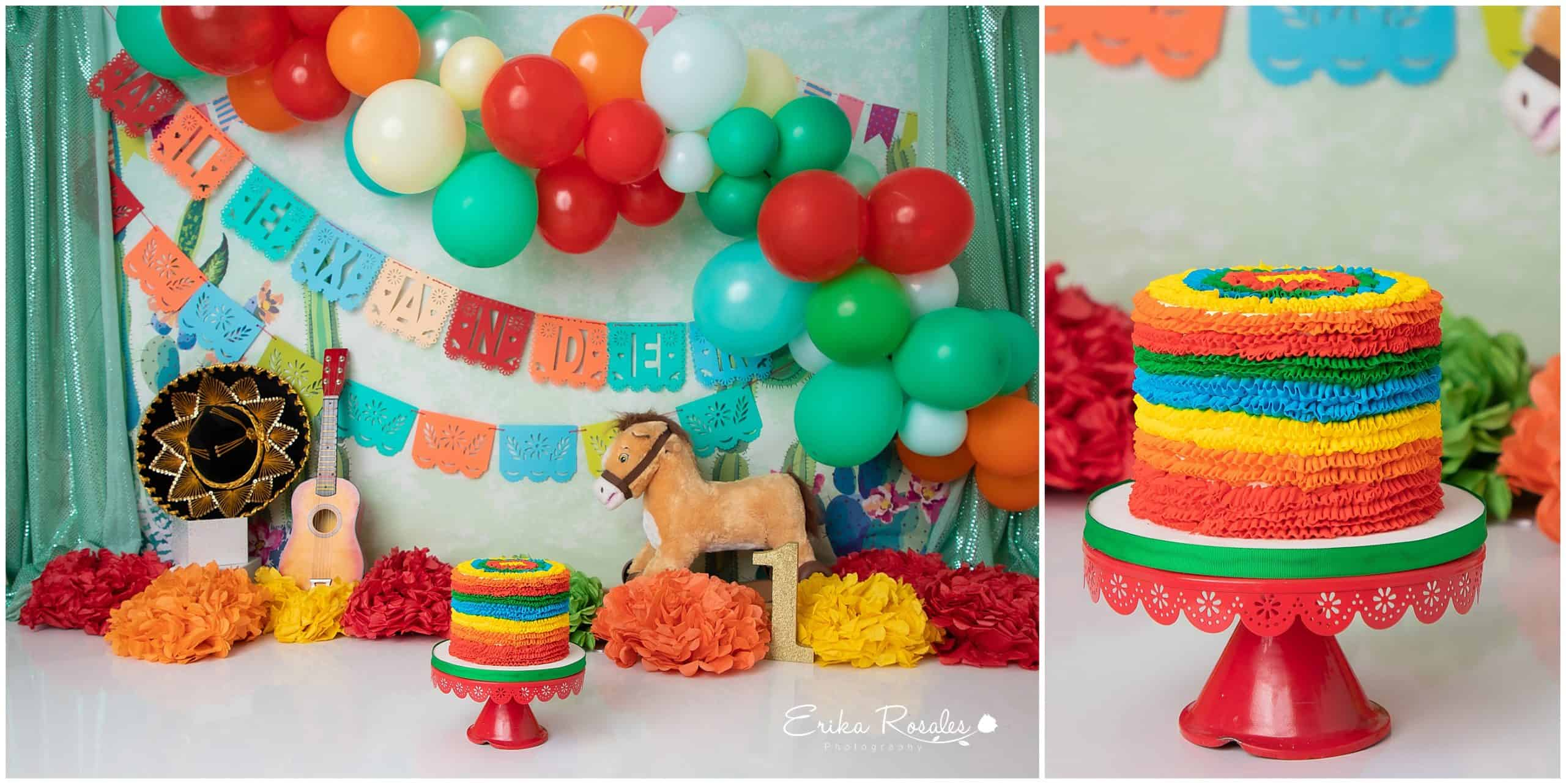 Fantastic Mexican Cake Smash Archives Erika Rosales New York Photo Studio Birthday Cards Printable Benkemecafe Filternl